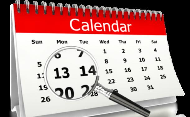 Calendrier des vacances universitaires au titre de l'année universitaire 2021-2022