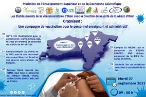 La campagne de vaccination à l'ESGEE